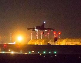 Chiến đấu cơ Anh bắt đầu xuất kích diệt IS