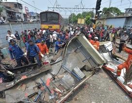 Tai nạn tàu hỏa nghiêm trọng tại Indonesia, 16 người thiệt mạng