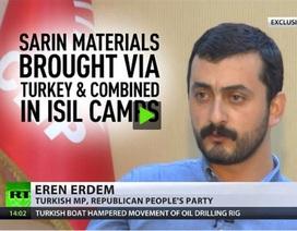 Nghị sĩ Thổ Nhĩ Kỳ bị điều tra vì hé lộ khí độc với truyền thông Nga