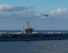 Tàu sân bay Mỹ sắp đến Trung Đông tăng cường không kích IS