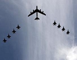 Mỹ tập trận hạt nhân quy mô lớn với phi đội ném bom hiện đại