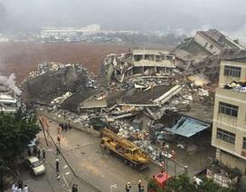 Trung Quốc: Sạt lở đất kinh hoàng tại Thẩm Quyến, 59 người mất tích