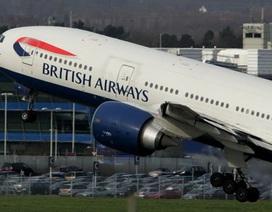 Hành khách dọa cho nổ tung máy bay Anh