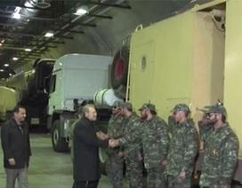 Iran công bố kho tên lửa ngầm thứ 2