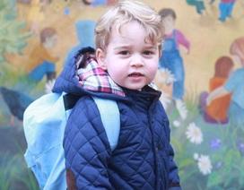 Ngày đầu tiên đi học của Hoàng tử bé nước Anh