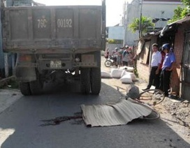 Nam sinh lớp 7 bị xe tải tông chết trên đường đi học về