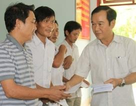 Hỗ trợ 22 ngư dân bị đe dọa ở Hoàng Sa