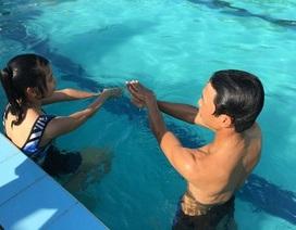 """Trường """"trắng"""" bể bơi, dạy môn bơi bỏ ngỏ"""