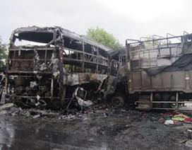 Vụ tai nạn 13 người chết: Đã xác định 9 người Quảng Ngãi chết cháy