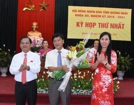 Chủ tịch UBND tỉnh Quảng Ngãi tái đắc cử