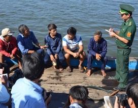 5 ngư dân bị tàu Trung Quốc hất xuống biển về đất liền an toàn
