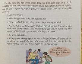 """Thực hư sách kĩ năng dạy trẻ """"sờ vào vùng kín"""" của bạn"""