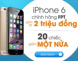 Muachung Plaza giảm giá lên tới 2 triệu đồng cho tất cả các sản phẩm iPhone 6/6 Plus chính hãng FPT