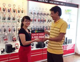 Khách hàng được tặng 6 triệu đồng khi mua iPhone 6 tại FPT Shop