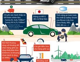 """10 """"điểm cộng"""" của Nissan Sunny"""