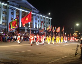 """Lễ hội văn hóa dân gian đường phố """"Việt Trì - TP lễ hội về với cội nguồn 2016""""..."""