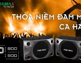 Bộ đôi loa mới PARAMAX P-800 và P-900: Thỏa niềm đam mê ca hát