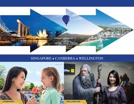 Singapore Airlines khai trương đường bay tốc hành nối kết 3 thủ đô