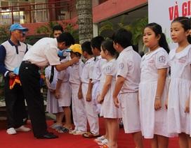 """Trẻ tiểu học """"háo hức"""" với phương pháp giảng dạy An toàn giao thông mới"""