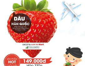 Thưởng thức dây tây Hàn Quốc chính hiệu tại Lotte Mart