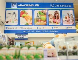 Chiến binh thứ 12 của hệ thống cửa hàng muachung ra đời tại thành Vinh