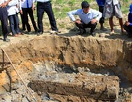 Hà Tĩnh: Phát hiện hai ngôi mộ cổ khi làm thuỷ lợi