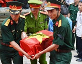 Hà Tĩnh: Truy điệu, an táng 27 liệt sĩ hy sinh trên đất Lào