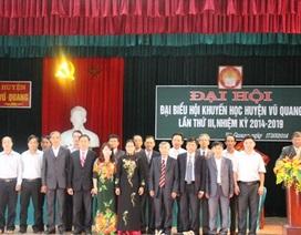 5 năm, Hội Khuyến học Vũ Quang huy động được hơn 5 tỷ đồng khuyến học