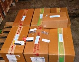 Bắt 30 nghìn viên thuốc gây nghiện quá cảnh tại sân bay Tân Sơn Nhất sang Campuchia