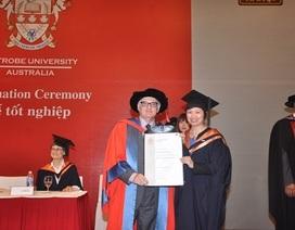 Sinh viên khóa MBA mới đầu tiên của La Trobe Việt Nam tốt nghiệp