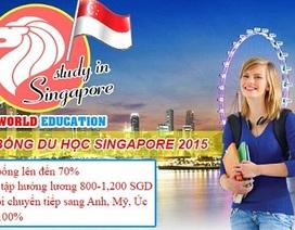 Ưu đãi học bổng du học Singapore 2015