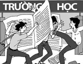 Bạo lực học đường, làm sao giải quyết?