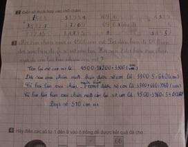 Đã tìm được nguồn gốc bài toán lớp 3 gây tranh cãi