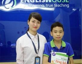 """Cao thủ nhí Tiếng Anh lớp 7 """"ngồi nhầm"""" lớp 12 chia sẻ bí quyết đạt 885/900 TOEFL Junior"""