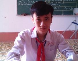 Nam sinh xứ Thanh giành giải Nhất cuộc thi UPU quốc gia