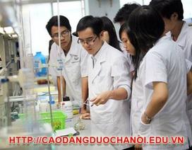 Cao đẳng Dược Hà Nội Xét tuyển học bạ THPT năm 2015