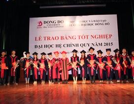 Tưng bừng lễ tốt nghiệp 2015