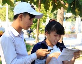 Gợi ý giải đề Tiếng Anh, kỳ thi THPT quốc gia 2015