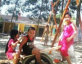 Sinh viên xây dựng khu vui chơi miễn phí cho trẻ em