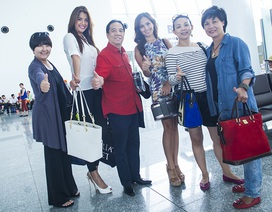 Hoa hậu, Á hậu Du lịch Quốc tế rời Việt Nam