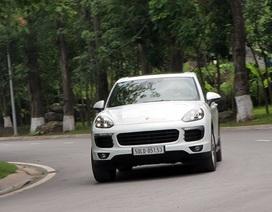 Gói bảo dưỡng miễn phí trị giá 200 triệu đồng cho Porsche Cayenne
