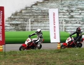 Honda tham gia tổ chức giải đua xe máy tại Việt Nam
