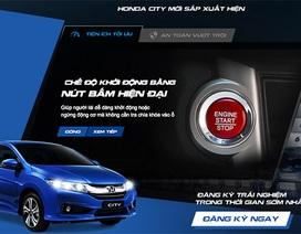 Honda tiết lộ thông tin về mẫu City mới