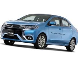 Mitsubishi Attrage nâng cấp sẽ thay đổi theo hướng nào?