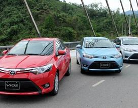 Xe nào bán chạy nhất Việt Nam tháng 1/2016?