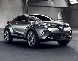 Phân khúc miniSUV thêm nóng bỏng với Toyota C-HR