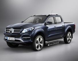 Mẫu bán tải Mercedes-Benz X-class sẽ ra mắt vào tháng 10?