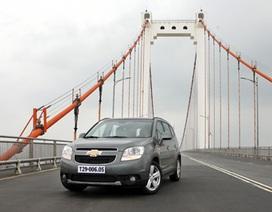 Triệu hồi xe Chevrolet Orlando tại Việt Nam vì kẹt nút khởi động
