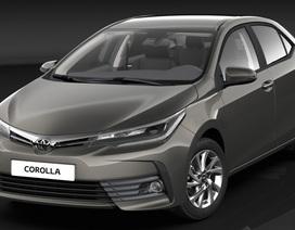 Xuất hiện hình ảnh phiên bản  nâng cấp của Toyota Altis