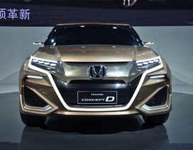 Honda ưu ái thị trường Trung Quốc với UR-V